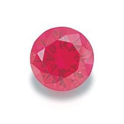Syn. Ruby (4mm Round) / 5pcs