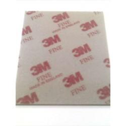 Sponge sanding pad, Fine (Red)
